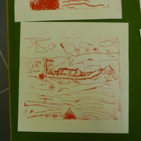 Premier tirage en lithographie
