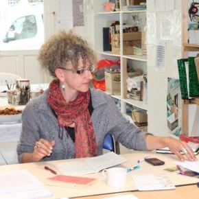 Antoinette Bois de Chesne, animatrice des ateliers