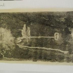 Empreinte au monotype à partir d'une photographie