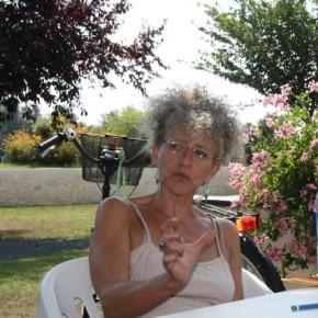 Antoinette Bois de Chesne, animatrice des ateliers d'écriture