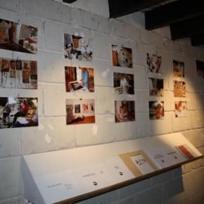 """Exposition des travaux du stage """"écriture et arts plastiques"""" d'août 2013"""