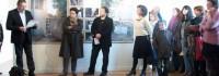Vernissage de l'exposition Olive Martin