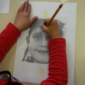Dessiner un visage à partir de la photocopie