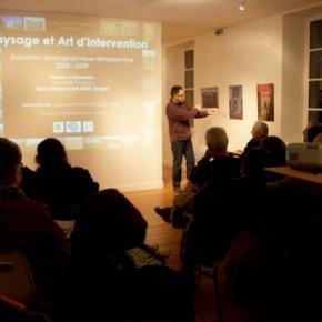 Conférence de Vincent Bouvier : Paysage et Art d'intervention
