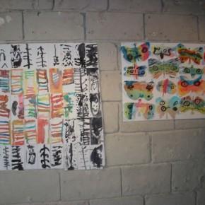 Ecole La Fontaine de Anetz, classe de CP. Atelier en lien avec l'exposition de Patricia Cartereau.