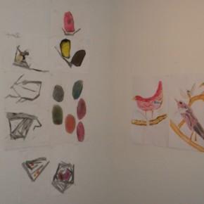 Ateliers réguliers pour enfants. Les oiseaux, les nids, les cartons à dessins.