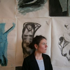 Mélanie Le Page, médiatrice du Centre d'art et animatrice des ateliers